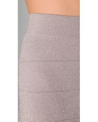 BCBGMAXAZRIA - Pink Scarlett Pencil Skirt - Lyst