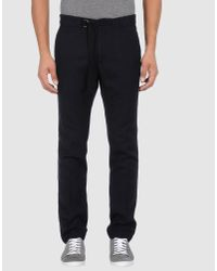 Mauro Grifoni | Blue Casual Pants for Men | Lyst