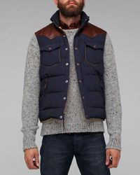 Penfield | Blue Stapleton Vest Navy Gilet for Men | Lyst