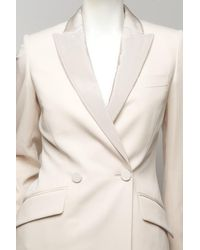 Stella McCartney | Natural Tuxedo Jacket | Lyst