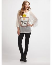 Wildfox Natural Dream Potion Oversize Raglan