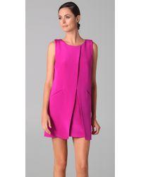 Jenni Kayne - Pink Overlap Dress - Lyst