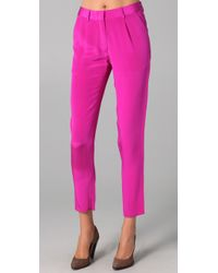 Jenni Kayne | Pink Pleated Trouser | Lyst