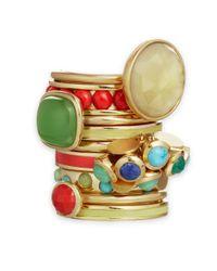 Astley Clarke - Green Timbrel Chrysoprase Ring - Lyst