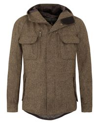 Barbour | Natural Shackelton Bracken Jacket for Men | Lyst