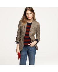 J.Crew | Brown Hacking Jacket in Tweed | Lyst