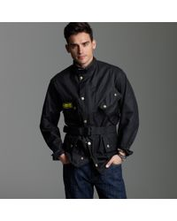 J.Crew | Black Barbour® International Jacket for Men | Lyst