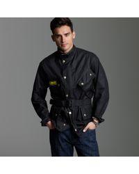 J.Crew | Black Barbour® International Jacket for Men | Lyst