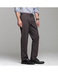 J.Crew - Black Bowery Microstripe In Classic Fit for Men - Lyst