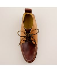 J.Crew | Brown Mens Quoddy® For J.crew Tri-color Chukka Boots for Men | Lyst