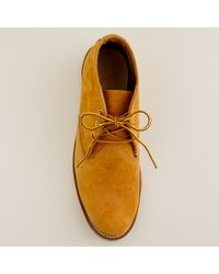 J.Crew | Orange Red Wing® Work Chukka Boots for Men | Lyst