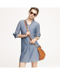 J.Crew | Blue Nili Lotan® Chambray Beach Tunic Dress | Lyst