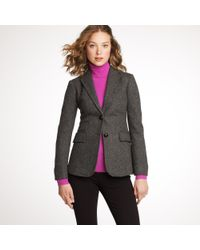 J.Crew | Gray Hacking Jacket in Herringbone | Lyst