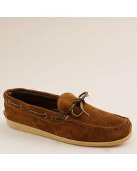 J.Crew | Brown Mens Quoddy® Camp Moccasins for Men | Lyst