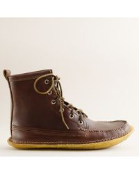 J.Crew | Brown Mens Quoddy® Grizzly Boots for Men | Lyst