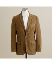 J.Crew | Natural Corduroy 14-wale Sportcoat in Ludlow Fit for Men | Lyst