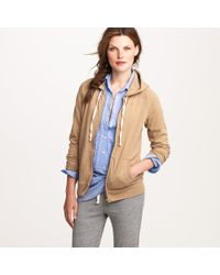 J.Crew | Natural Ultra-knit Zip Hoodie | Lyst