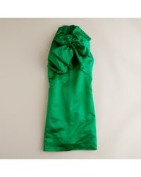 J.Crew | Green Prabal Gurung At J.crew Exploding Bow Dress | Lyst
