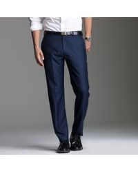 J.Crew - Blue Ludlow Classic Suit Pant In Italian Cashmere for Men - Lyst