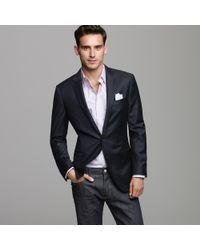 J.Crew | Blue Ludlow Two-button Blazer with Double-vented Back for Men | Lyst
