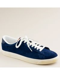 J.Crew | Blue Nike® For J.crew Vintage Collection Suede Tennis Classic Ac Sneakers for Men | Lyst