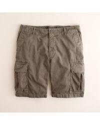 J.Crew | Green Stanton Cargo Short for Men | Lyst