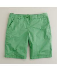 J.Crew | Green Summerweight Chino Short | Lyst