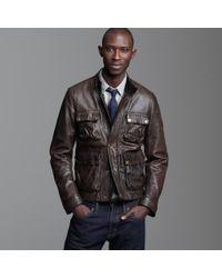 J.Crew | Brown Belstaff® Brad Jacket for Men | Lyst