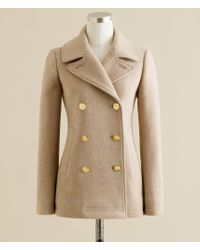 J.Crew | Natural Majesty Peacoat | Lyst