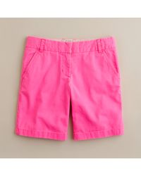 J.Crew - Pink 9 Chino Short - Lyst