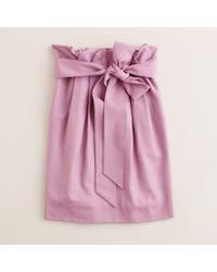 J.Crew | Pink Sash Skirt | Lyst