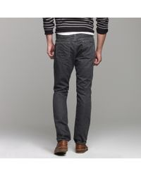 J.Crew | Gray 484 Slim-fit Jean In Worn Grey Wash for Men | Lyst