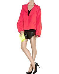 Jil Sander | Pink Twill Utility Jacket | Lyst