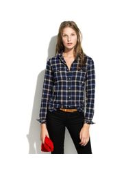 Madewell | Blue Penfield Kuffman Plaid Flannel | Lyst