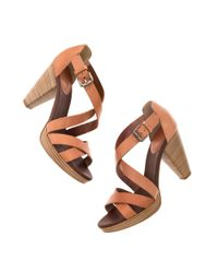 Madewell | Natural The Crosswalk Sandal | Lyst