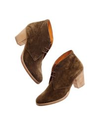 Madewell | Brown The Suede Sandstorm Boot | Lyst