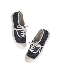 Madewell | Blue Bensimon® Striped Sneakers | Lyst