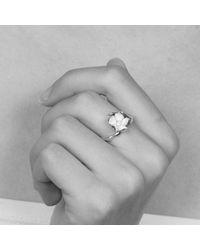 Shaun Leane - Metallic Small Cherry Blossom Ring - Lyst