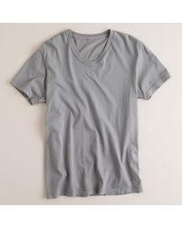 J.Crew | Gray Slim Broken-in V-neck Tee for Men | Lyst