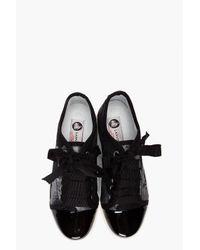 Lanvin | Black Basket Basse Sneakers | Lyst