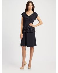 Marc By Marc Jacobs | Black Rock The Boat Jersey Dress | Lyst