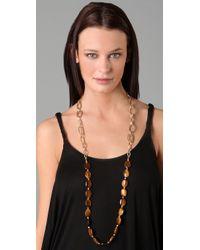 Maven - Multicolor Tigers Eye Link Necklace - Lyst