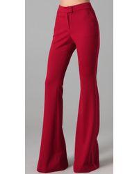 Rachel Zoe | Red Hutton Tuxedo Pants | Lyst