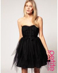 ASOS Collection | Black Asos Petite Exclusive Exagerated Tutu Dress | Lyst