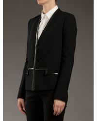 Balenciaga | Black Silk Lined Jacket | Lyst