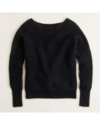 J.Crew | Black Dream Dolman Sweater | Lyst
