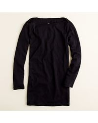 J.Crew | Black Perfect-fit Boatneck Tee | Lyst