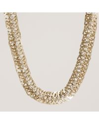 J.Crew | Metallic Sparkle Figure Eight Necklace | Lyst