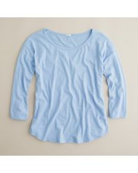 J.Crew | Blue Vintage Cotton Ballet Tee | Lyst