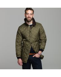 J.Crew | Green Barbour Liddesdale Jacket for Men | Lyst